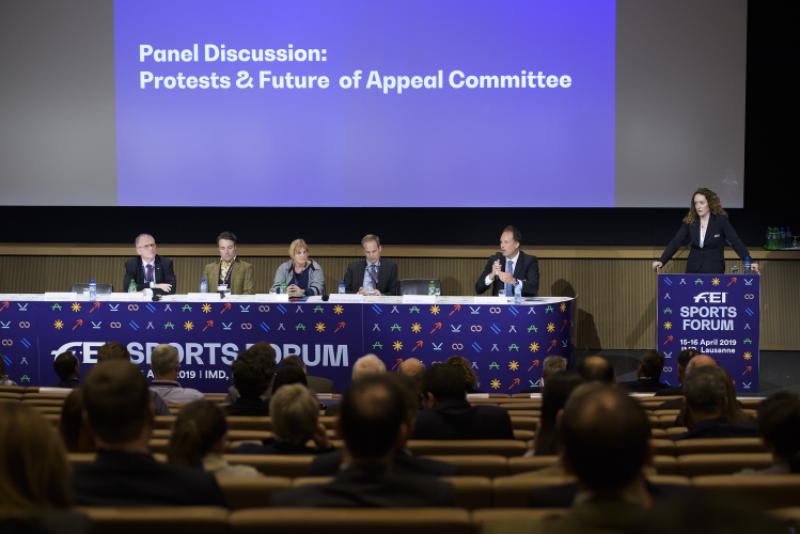 Conclusi a Losanna i lavori del FEI Sport Forum 2019