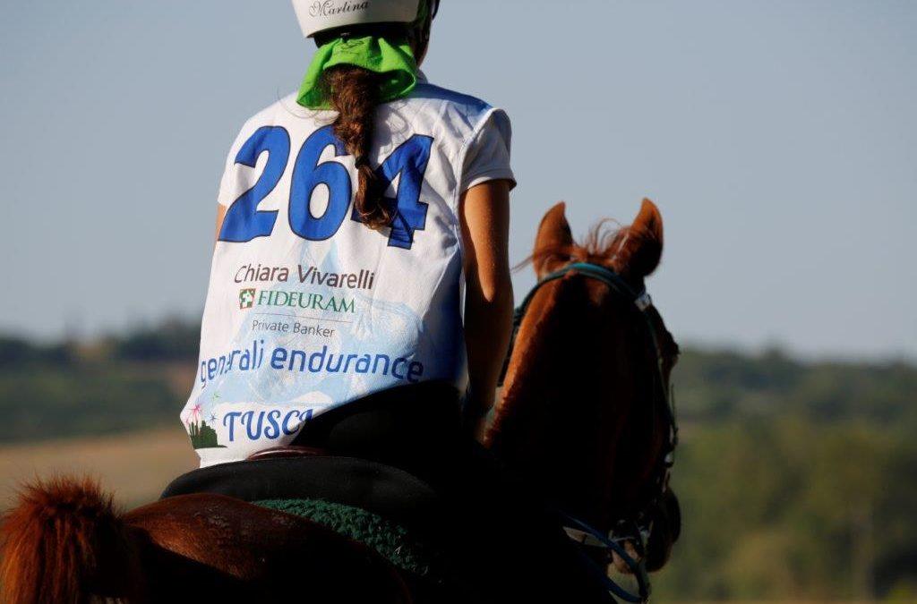 A trionfare su tutti è stata Martina Gaiani l'amazzone del Trofeo del Brunello