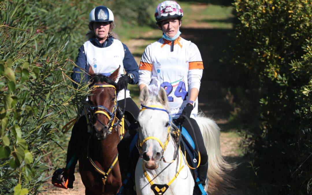 Patrizia e Serena due amazzoni Toscane nelle puglie