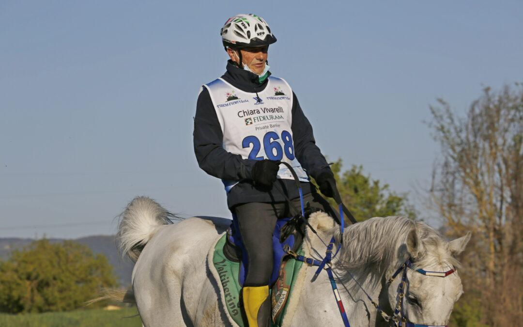 Antonio Vaccarecci al II° Ride di Arezzo Endurance