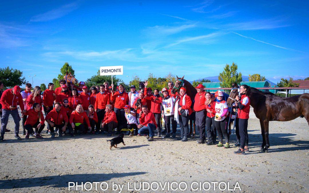 Carosello delle regioni italiane in  Endurance Coppa delle regioni edizione 2021.