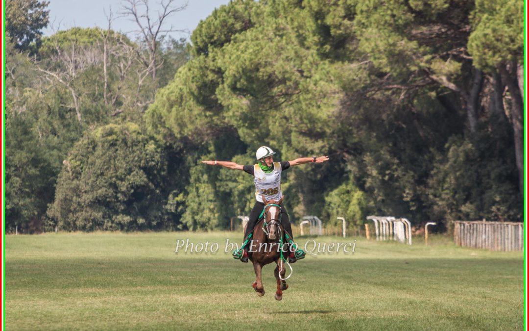 SERIOLI DANIELE, si conferma il primo degli italiani a San Rossore nella 120 km
